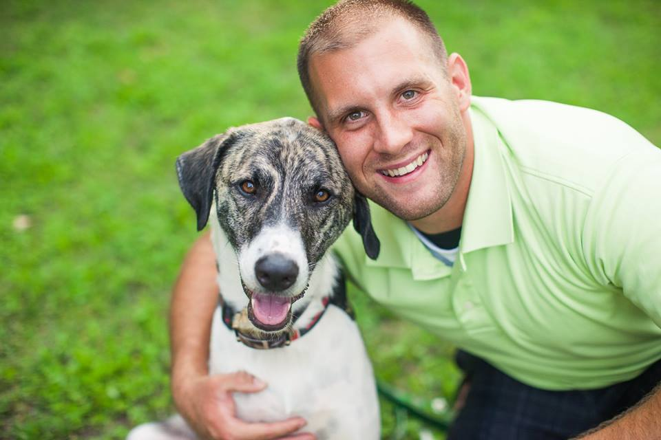 Pictured above is current mascot, Leonidas and his proud owner, Tim Johannsen. The Army soldier rescued this incredible dog from Afghanistan, where the two first met. With perseverance and patience, Leo ultimately arrived in the United States and was welcomed into his forever home with Tim and his wife, Kaydee.